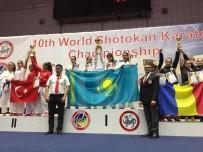 KARATE - Diyarbakırlı Sena, Karatede Dünya İkincisi Oldu
