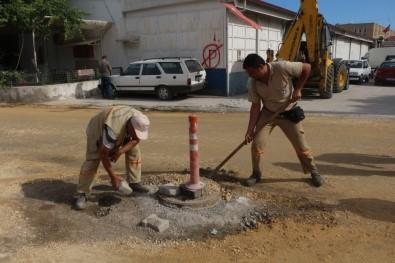 Kuşadası Belediyesi'nden Sanayi Sitesinde Yol Ve Altyapı Hamlesi