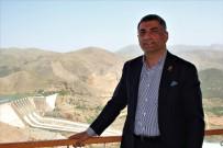 Milletvekili Erol, Keban Barajı Ve Çimento Fabrikasında İncelemelerde Bulundu