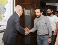 Mimarlar Odası'ndan Başkan Mızraklı'ya Ziyaret