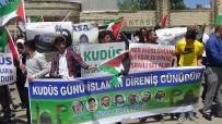 Muş'ta İsrail Ve ABD Protesto Edildi