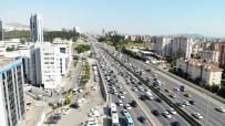 BOSTANCı - Trafikte Bayram Yoğunluğu Başladı