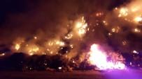 İTFAİYE ARACI - Bilecik'te Çöplük Yangını
