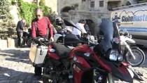 Çin Yolculuğundaki Motosikletli Grup Kapadokya'da Mola Verdi