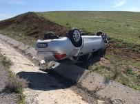 Konya'da Otomobil Takla Attı Açıklaması 5 Yaralı