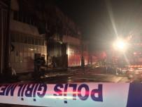 İTFAİYE ARACI - Mobilya Tekstil Atölyesinde Yangın