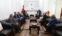 Önder İmam Hatipliler Derneği'nden Başkan Güder'e Ziyaret
