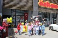 Özhan'a Gelen Çocuklar Gönüllerince Eğlendi