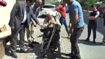 Vicdansızlar Yaşlı Adamı Akülü Sandalye Vaadiyle Dolandırdı