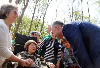 Başkan Büyükakın, Ormanya'da