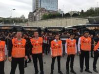 SPOR KOMPLEKSİ - Beşiktaş Taraftarı Galatasaray Derbisi İçin Yola Çıktı