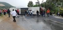 OTOBÜS ŞOFÖRÜ - (Düzeltme) Milas'ta Feci Kaza Açıklaması 2 Ölü, 12 Yaralı
