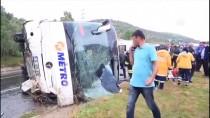 EREN ARSLAN - GÜNCELLEME - Muğla'da Yolcu Otobüsü Devrildi