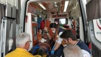 KIYI EMNİYETİ - Karnına Saplanan Zıpkınla Hastaneye Kaldırıldı