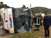 OTOBÜS ŞOFÖRÜ - Milas'ta Feci Kaza Açıklaması 2 Ölü, 12 Yaralı