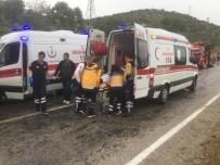 OTOBÜS ŞOFÖRÜ - Milas'taki Kazada Yaralı Sayısı 42'Ye Yükseldi