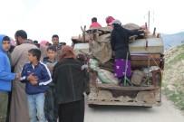 YARDIM MALZEMESİ - Ramazan Öncesinde İdlib'ten Göçler Yaşanıyor