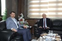 Sivas Valisi Ayhan'dan Başkan Pekmezci'ye Ziyaret