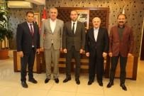 İŞÇİ SENDİKASI - Hizmet-İş'ten Belediye Başkanı Özdemir'e Ziyaret