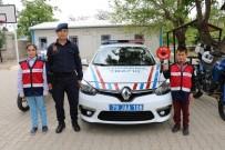 Jandarma Trafik Haftasını Öğrenciler İle Kutladı