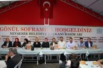 Nevşehir'de Dev Çadırda İlk İftar Heyecanı Yaşandı