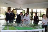 Pakistan Savunma Ve Üretim Bakanı Khan Rektör Bağlı'yı Ziyaret Etti