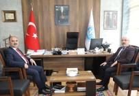 SANAYİ BÖLGELERİ - Vali Günaydın'dan KAYÜ Rektörü Karamustafa'ya İade-İ Ziyaret