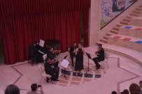 MEHMET TOPAL - Anadolu Klarnet Beşlisi Konseri Tam Not Aldı