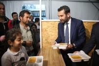 Başkan Şerifoğulları,Vatandaşlarla Çadırda İftarını Açtı