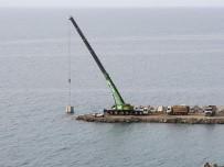 Denizkonak Balıkçı Barınağı'nda, Yüzde 70 Fiziki Gerçekleşme Tamamlandı