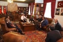 Enderun Eğitim Vakfı, Yöneticileri Belediye Başkanı Arı'yı Ziyaret Etti