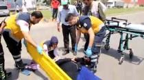 CIHANGIR - Hatay'da Trafik Kazası Açıklaması 2 Yaralı