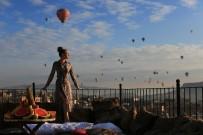 Kapadokya Rusların Fotoğraf Mekanı Oldu