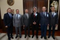 Vakıflar Bölge Müdürü Kılınç Çorum Belediyesi'ni Ziyaret Etti