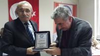 MUSTAFA ÜNAL - EŞYODER'den Şair Mustafa Ünal'a Ödül