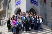 İller Bankası Heyeti Nevşehir Kalesi Yeraltı Şehrinde İncelemelerde Bulundu