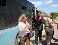 OTOBÜS ŞOFÖRÜ - Otobüste 'Türklüğe Hakaret' İddiası Ortalığı Karıştırdı