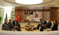 Türk Dil Kurumu Başkanı Prof. Dr. Gülsevin NEVÜ'de