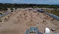 CEM KARACA - 8 Ülkeden 15 Heykeltıraşın 10 Bin Ton Üzerinde Kum Kullandığı Festivale 200 Bin Ziyaretçi Bekleniyor