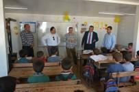 Elazığ'dan Azez'deki Okullara Yardım