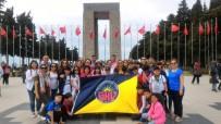 GELIBOLU YARıMADASı - Gaziantep Kolej Vakfı Öğrencileri Çanakkale'de