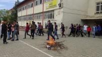 Gercüş'te Lise Öğrencilerine Yönelik Yangın Tatbikatı
