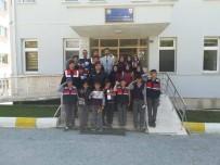 Hüyük'te İmam Hatip Ortaokulu Öğrencilerinden Jandarmaya Ziyaret Etti
