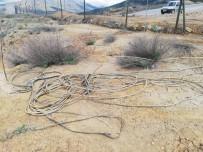 Madenden Elektrik Kablosu Çalarken Yakalandılar