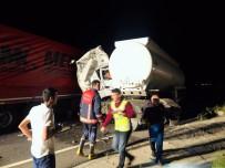 Nusaybin'de Tır İle Tanker Çarpıştı Açıklaması 1 Ölü, 1 Yaralı