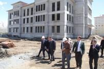 Vali Oktay Çağatay, 112 Acil Çağrı Merkezi İnşaatını İnceledi