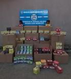 Operasyonda 1 Ton 300 Kilo Kaçak Nargile Tütünü Ele Geçirildi