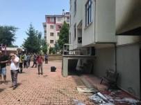 ELMALıK - 7 Katlı Binada Yangın Açıklaması 2'Si Çocuk 9 Kişi Hastanelik Oldu
