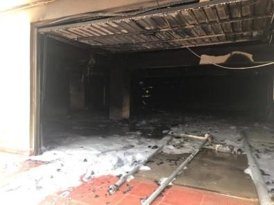 Bartın'da 7 Katlı Binada Yangın Açıklaması 2'Si Çocuk 9 Kişi Hastanelik Oldu