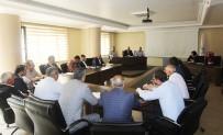 Başkan Pekmezci, Birim Müdürleriyle Toplantı Yaptı